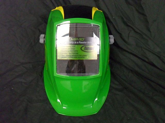 Custom Welding Helmets >> Custom Painted John Deere Welding Helmet