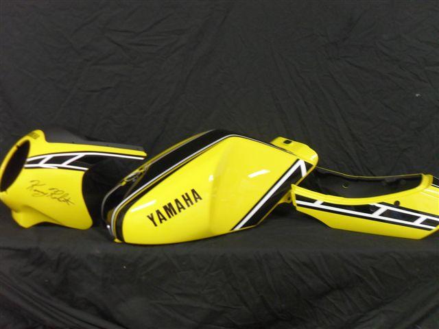 Custom Painted Yamaha RZ350